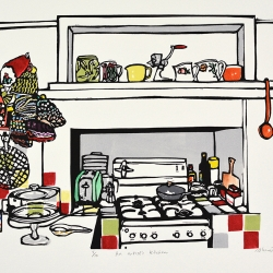 An artist's kitchen 2014